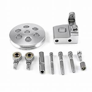 Fits Chevy Sbc 350 Type2 Billet Polished Aluminum Power