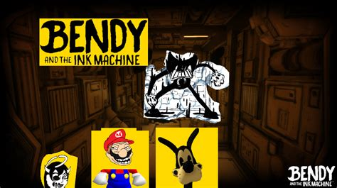 A collection of the top 55 bendy and the ink machine wallpapers and backgrounds available for download for free. If Mario Was In Bendy And The Ink Machine by Pressking on DeviantArt