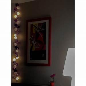Guirlande Lumineuse Chambre : guirlande lumineuse 20 boules ~ Teatrodelosmanantiales.com Idées de Décoration