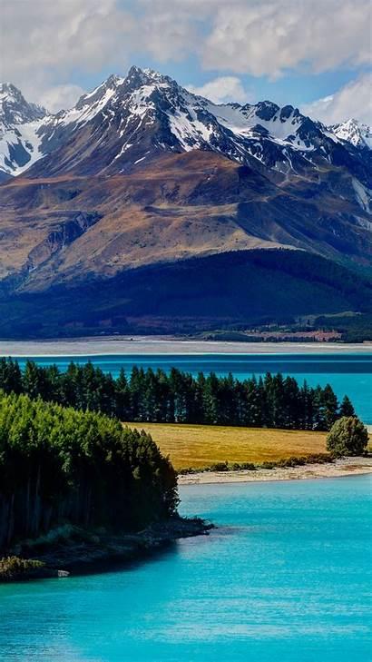 Zealand Tekapo Lake 4k Island South Iphone