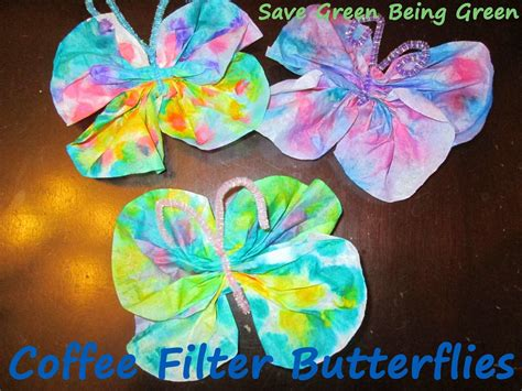 coffee filter butterfly craft project using dot markers 519 | 0233d48f1a86fcd62d14812cf136d272