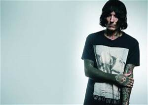 Oli Sykes Reveals Newly Finished White on Blacked out ...