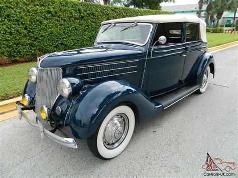 1936 Ford Deluxe Sedan Convertible 4 Door Amazing