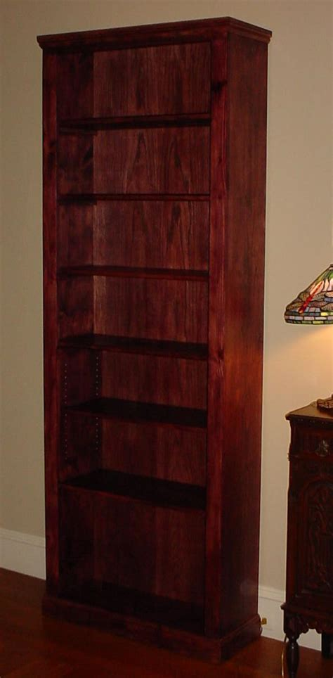 8 foot tall bookcase lakota custom designs custom solid wood furniture all