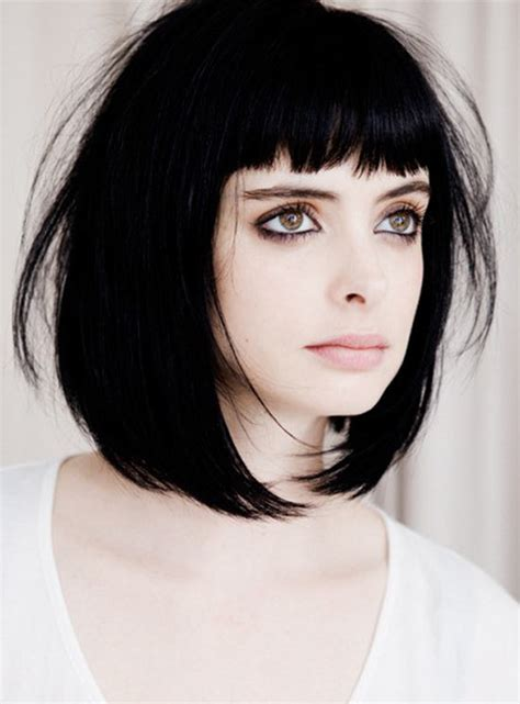 short hair  fringe hairstyle ideas