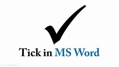 Tick Symbol Word Mark Check Ms Bring