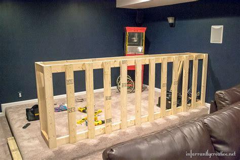 man cave wood pallet bar  diy plans infarrantly