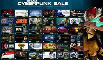 Steam Cyberpunk Games Discounts Offering Deep Week