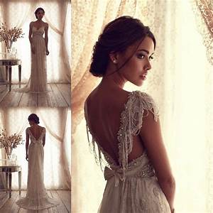 Popular vintage wedding dresses ideas for fall wedding for Vintage beaded lace wedding dress