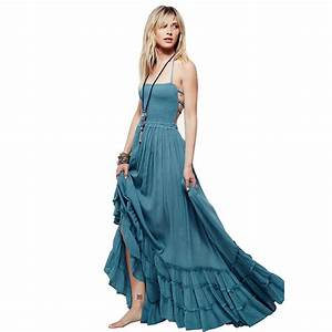 2017 New Beach Dress Sexy Dresses Boho Bohemian Dress ...