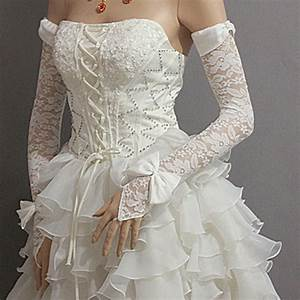 popular red dress gloves buy cheap red dress gloves lots With wedding dress with gloves