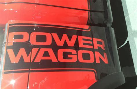 roading  ram power wagon release date