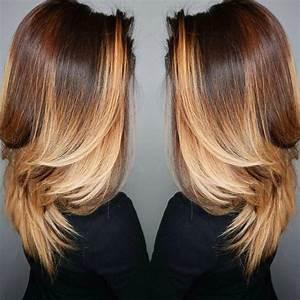 Ombré Hair Chatain : le salon de naelle l 39 ombr hair ou tie and dye ~ Nature-et-papiers.com Idées de Décoration