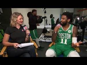 Kyrie Irving Sitdown Interview | NBA Media Day 2018 - YouTube