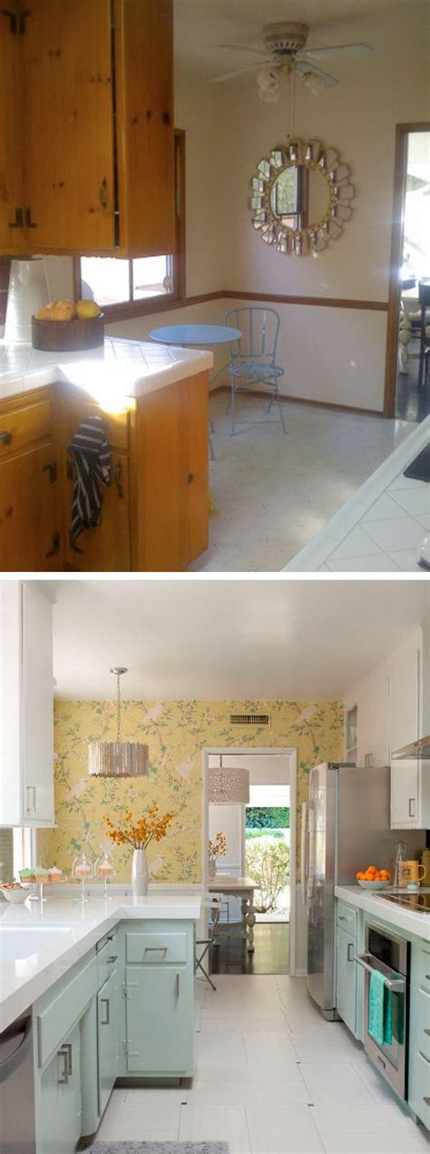 budget friendly before and after kitchen makeovers diy before and after 25 budget friendly kitchen makeover ideas