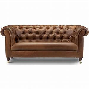 bamford chesterfield leather 3 seater sofa next day With chesterfield leather sofa