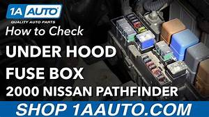 How To Check Under Hood Fuse Box 96
