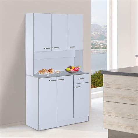 Free Standing Cupboard Storage by Free Standing Kitchen Cupboard Large Cart Modern