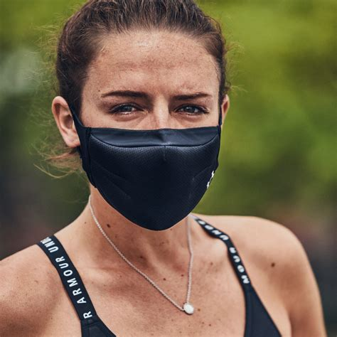Under Armour's breathable, anti-bacterial face masks ...