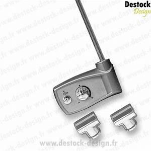 Radiateur Electrique Avec Thermostat : seche serviette electrique avec thermostat ~ Edinachiropracticcenter.com Idées de Décoration