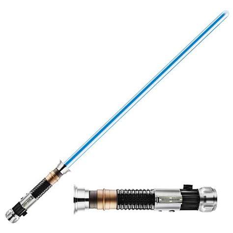 light saber toys obi wan kenobi fx lightsaber removable blade hasbro