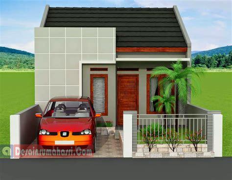 desain garasi kecil terbaru  desain properti indonesia