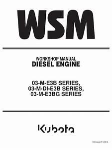 Manual Kubota V2203