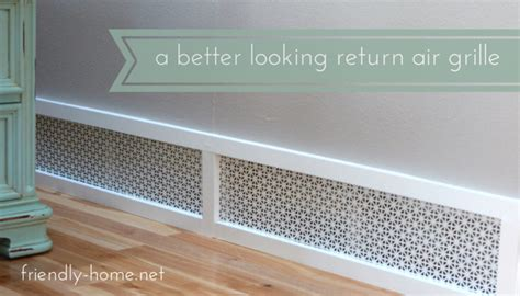 Decorative Cold Air Return Grilles by 10 Diy Return Air Vent Covers With A Cool Look Shelterness