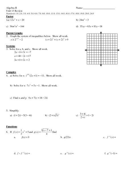 Algebraic Linear Equations Worksheets  Algebra 1 Worksheets Dynamically Created Worksheetspre
