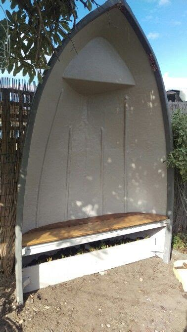 Old Boat Seats by Recycling And Upcycling An Old Boat Into A Bench Seat