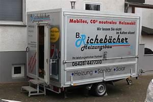 Mobile Heizung Für Wohnung : mobile heizzentrale richeb cher heizungsbau gmbh ~ Orissabook.com Haus und Dekorationen