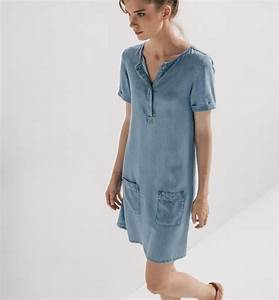 robe en denim light femme jean moyen robes femme With robes ete promod