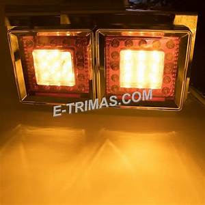 50led Hino Trailer Truck Lorry Freight Car Rear Led Tail