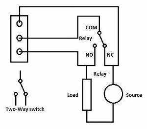 diy switchboard for home automation electronic circuits With no nc relay wiring
