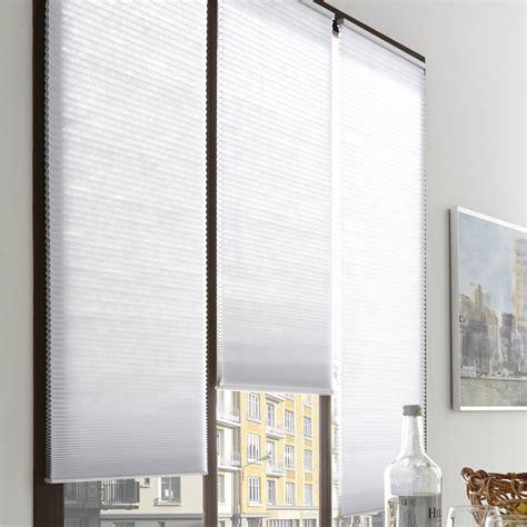 store pliss 233 polyester blanc l 45 x h 180 cm leroy merlin