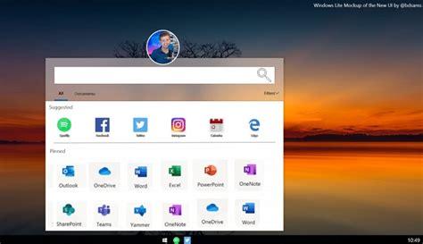 windows lite primera imagen conceptual de su interfaz