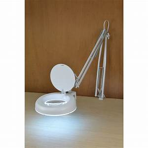 Articulated led lamp with magnifier for Led articulated floor lamp