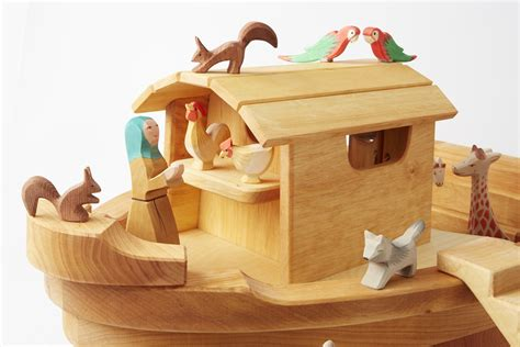 Noah's Ark Hand-crafted Wooden Heirloom Toy Donut Costume Diy Submerged Flower Centerpieces Yarn Swift Diys For Teenage Rooms Leave In Conditioner Natural Hair Prayer Flags Led Light E Nail