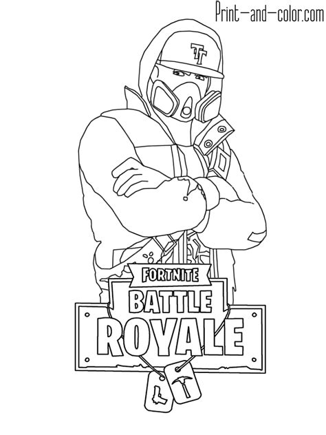 Kleurplaat Geweer Fornite by раскраска Fornite Coloring Pictures For Coloring