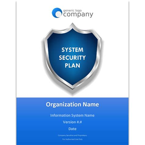 computer security plan template system security plan toolkit ckss cybersecurity solutions
