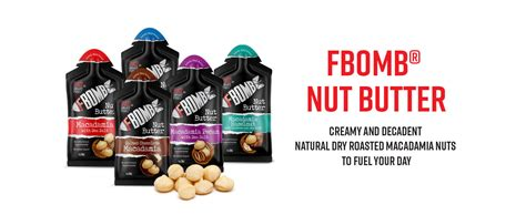 Amazon.com: FBOMB Nut Butter 16 Pack: All-Natural Energy ...