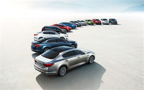 Kia Lineup by Kia S Luxury Lineup A Look At Current And Future Offerings