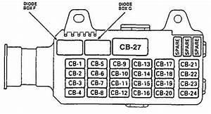 Jvex 1673  2001 Isuzu Rodeo Fuse Box Diagram Free Box