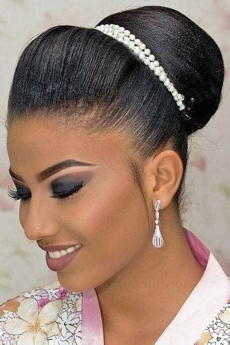black women wedding hairstyles  full  style