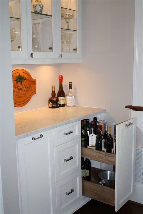 kitchen cabinets pics custom sized liquor bottle pull out by hardwood creations 3167