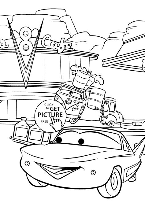 Cars coloring pages for kids printable free coloing