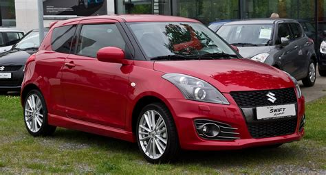 Suzuki Swift Sport I Technical Details, History, Photos On