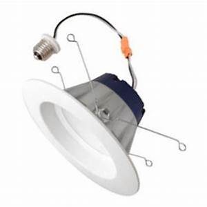 Sylvania led rt  fl recessed can