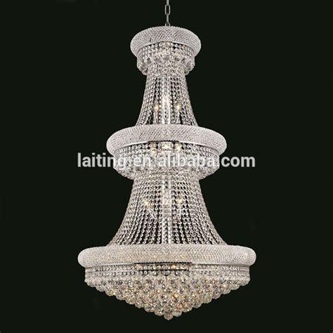 Luxury Modern Crystal Chandelier For High Ceilings Lt71006