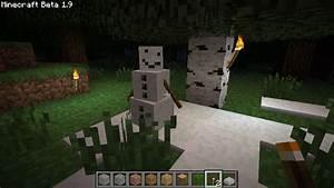 New Minecraft mob: Snowman | halfblog.net